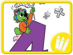 Razzle and the Number 4, Dogs and Numbers Activities